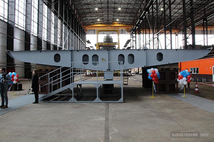 Закладка головного траулера проекта 03095