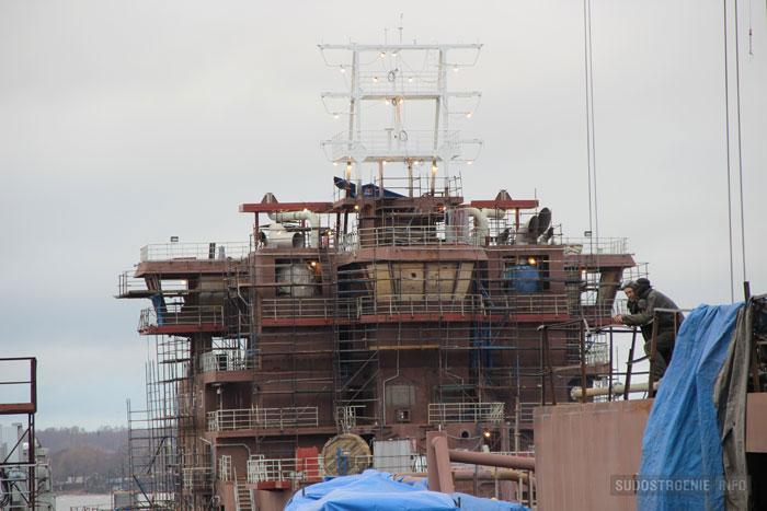 Постройка ледоколов на Выборгском СЗ