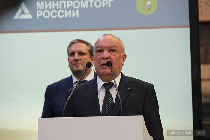 Гендиректор Северной верфи Игорь Пономарев