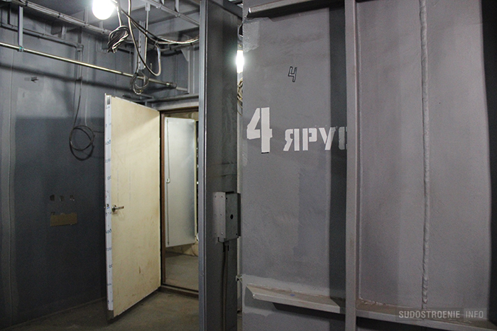 "Внутренняя лестница на ледоколе ""Арктика"""
