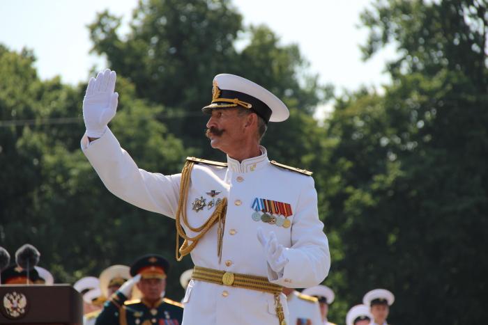 Главный военно-морской парад 28.07.2019