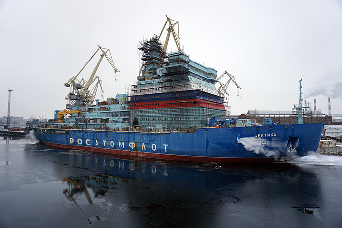 "Головной ледокол проекта 22220 ""Арктика"""