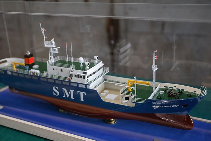 Краболовное судно