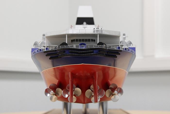 Пропульсивный комплекс ледокола проекта 10510