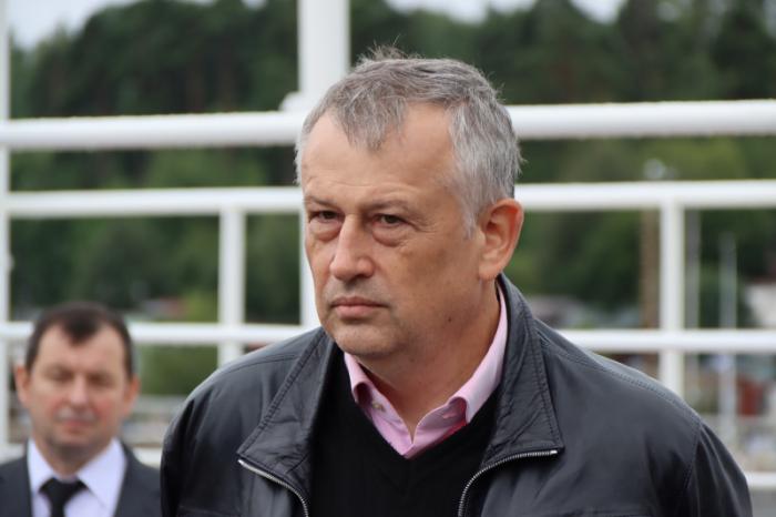 حاكم منطقة لينينغراد ألكسندر دروزدينكو
