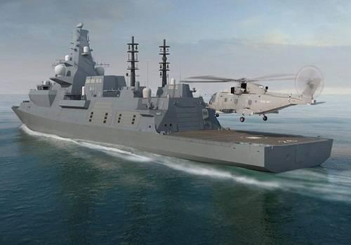 Великобритания потратит £3,7 млрд настроительство трех военных кораблей
