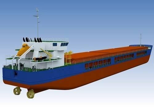 На 'Окской судоверфи' спущен на воду сухогруз 'Навис-5'