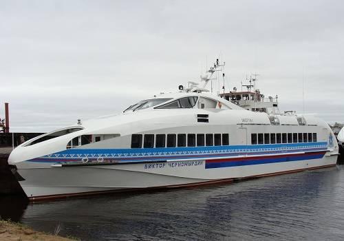 НаЗеленодольском заводе Горького построили два высокоскоростных  корабля для ОАЭ