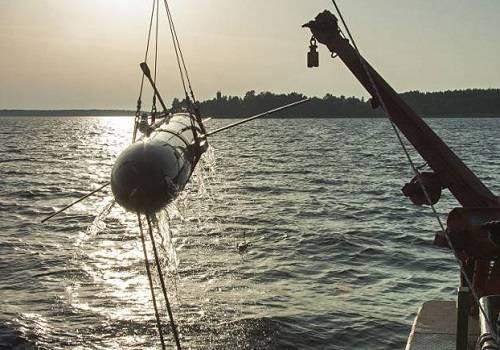 НаБалтике испытали подводного невидимого робота