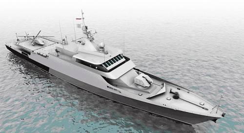 ВМФРФ получит 5 ракетных кораблей «Каракурт»