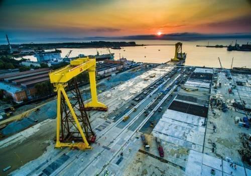 «Газпром» закажет наприморской «Звезде» неменее 30 судов