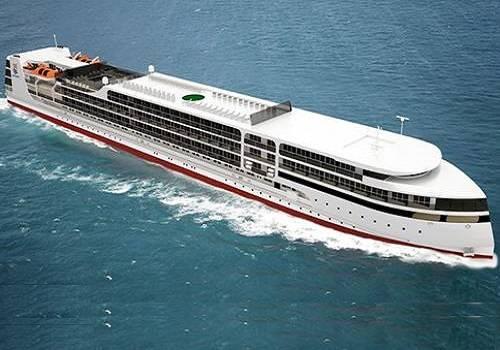 1-ый круизный лайнер, строящийся наастраханском судозаводе, назовут вчесть Петра I