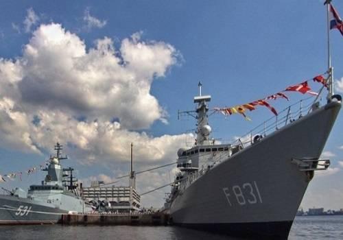 Международный военно-морской салон впервый раз пройдет воВладивостоке вконце июля