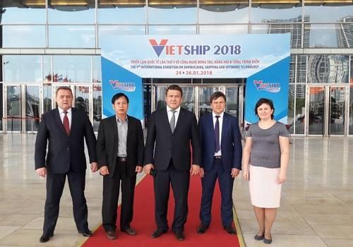 Зеленодольский СЗ принял участие в выставке VietShip-2018