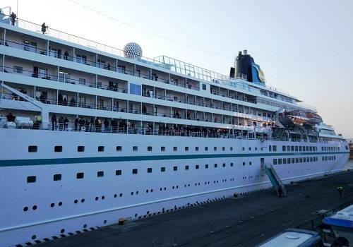 Морской гигант под флагом Багамских островов прибыл воВладивосток