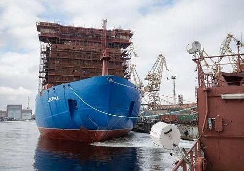 НаБалтийском заводе испытали защитные оболочки реакторов атомного ледокола «Арктика»