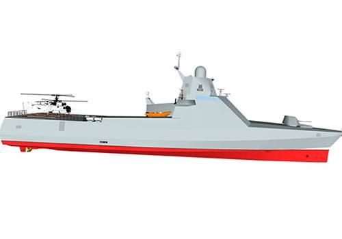 ВНовороссийске сформировали экипаж 2-го корвета проекта 22160