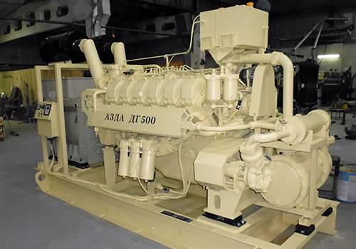 На Алтае создали судовой дизель-генератор из российских компонентов