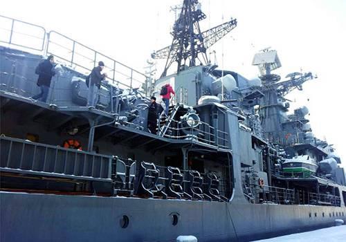Эсминец «Беспокойный», напугавший военных Латвии, встал на извечную стоянку вКронштадте