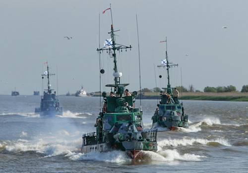 Корабли Каспийской флотилии опробовали Волго-Донской судоходный канал