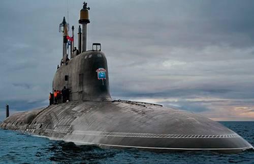 Главком вмф рассказал обударном потенциале русских подлодок «ясень»