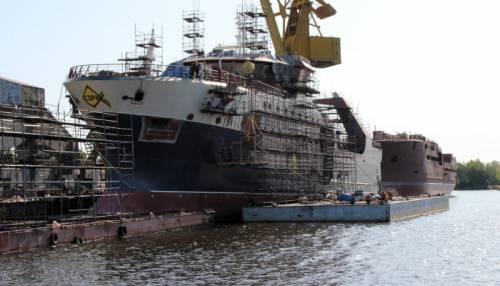 Головной траулер проекта КМТ01 'Баренцево море' планируется сдать летом 2020 года