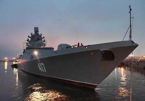 Фрегат «Адмирал Горшков» передадут флоту всередине лета