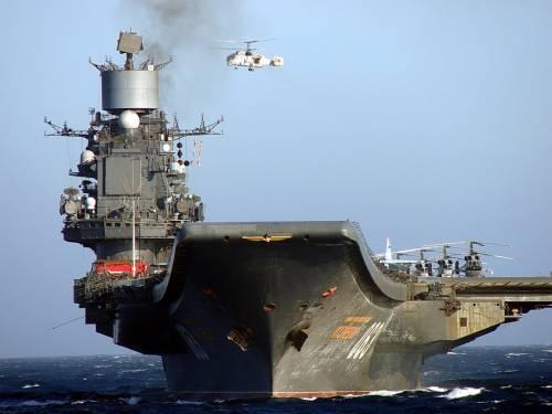 Авианосец «Адмирал Кузнецов» отправится кберегам Сирии всередине осени