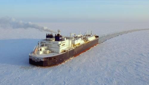 Новейшие суда для Ямала СПГ впервые проходят восточный Севморпуть без ледоколов