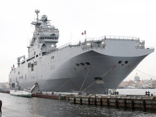 Флоту обещали пообразу иподобию «Мистраля» к 2022-ому году