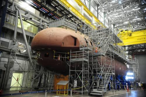 судостроительный завод подводных лодок