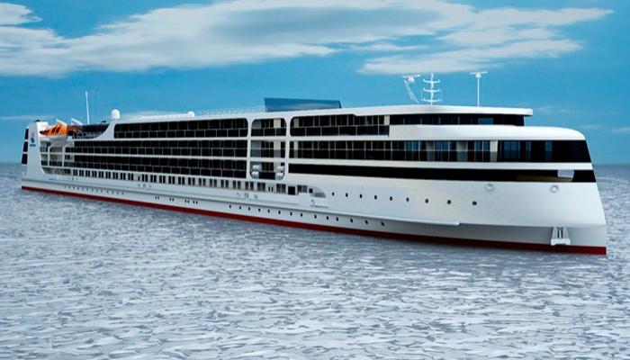 Астраханский круизный лайнер будет готов к 2019