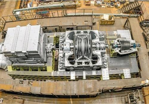 ВПетербурге открыли испытательный стенд для турбин атомных ледоколов
