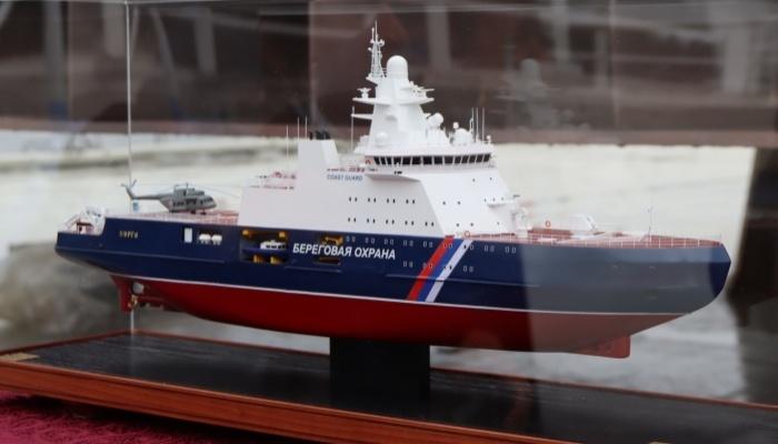 كيف بدأ Vyborg Shipyard بناء سفينة بورغا الحدودية
