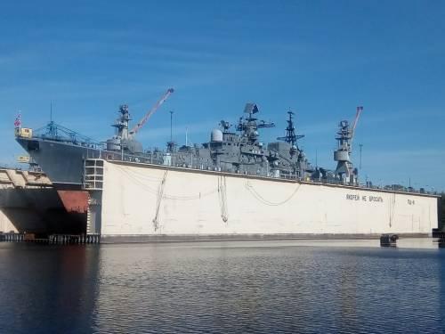 Эсминец Балтийского флота будет кораблем-музеем