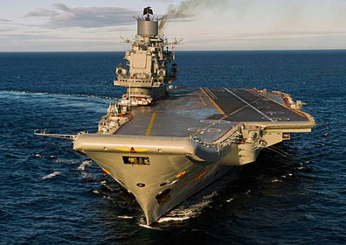 Летчики получат более'совершенного'Адмирала Кузнецова