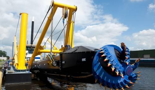 ВКарелии построят дноуглубительное судно для работы вАрктике