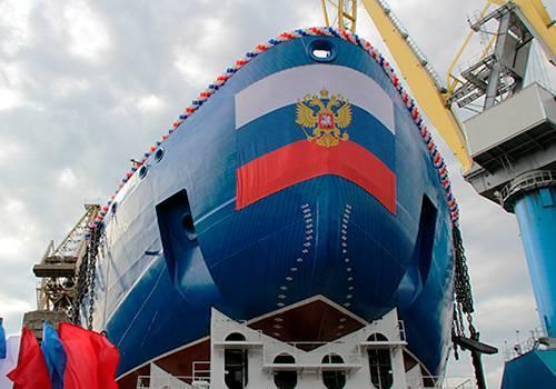 Балтийский завод заложит третий ледокол проекта 22220 в мае