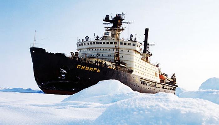 Атомный ледокол «Сибирь» отправлен наутилизацию