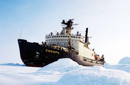 Атомный ледокол «Сибирь» утилизируют в 2017г