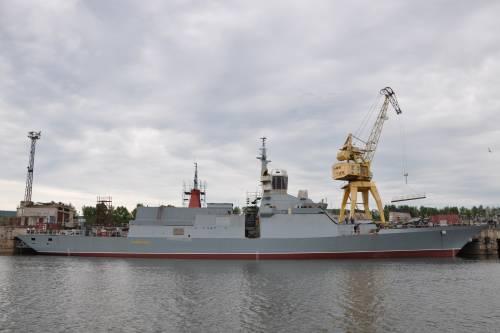 Новый боевой корабль впервый раз выполнил ракетную стрельбу вТихом Океане