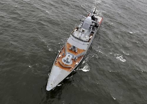 Новый корвет «Совершенный» войдет всостав Тихоокеанского флота РФ