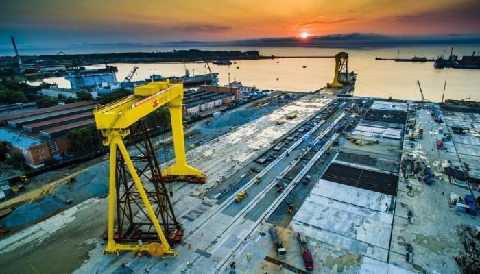 «Голиаф» доставлен: Суперверфь «Звезда» возводит крупнейший кран в России